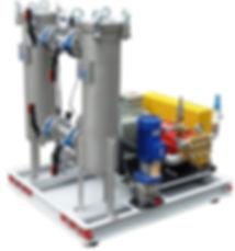 Пленжерные насосы высокого давления в сборе с электродвигателем