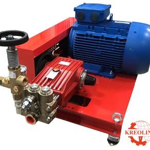 Плунжерный насос P52/120-120 с электродвигателем для очистки и мойки высоким давлением