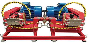 Установка высокого давения для гидроиспытаний 1200 бар