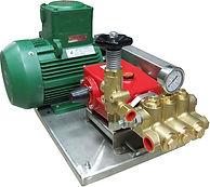 Установка высокого давления для испытаний высоким давлением P21/16-200