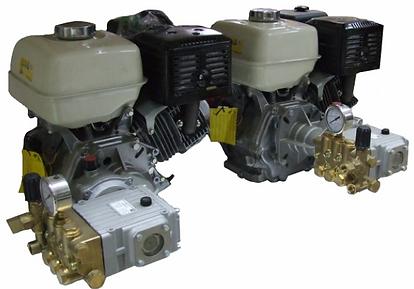 Насосная установка на бензиновом двигателе