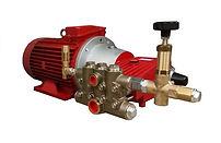 Плунжерный насос высокого давления серии Р52-100-150 фирмы SPECK с мотором