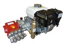 Трехплунжерный насос высокого даления Speck серии P21/19-160 для мойки и очистки с бензиновым двигателем