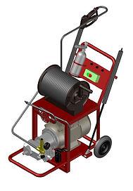 Аппарат высокого давления на базе насоса SPECK TRIPLEX