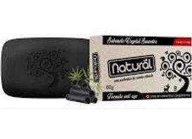 Sabonete Suavetex Natural com particulas de Carvão Ativado