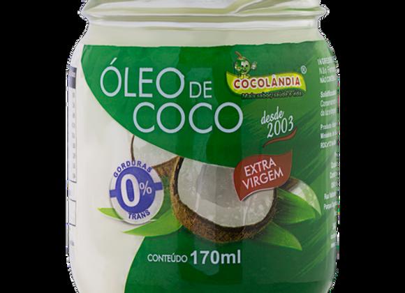 ÓLEO DE COCO EXTRA VIRGEM POTE 170 ml