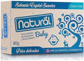 Sabonete Suavetex Natural Baby extratos Camomila e Erva Cidreira