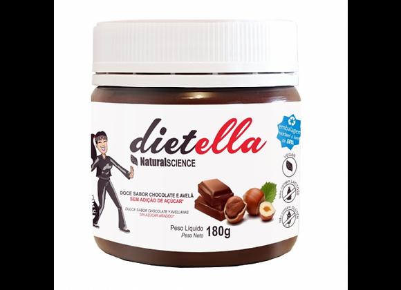 Dietella - Creme de avelã e Cacau Diete