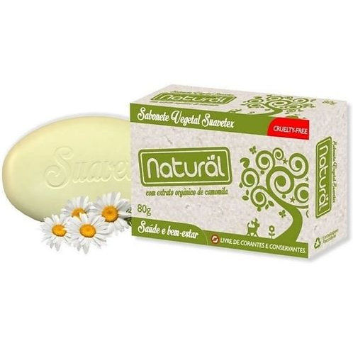 Sabonete Contente com Ingredientes Organicos e Naturais
