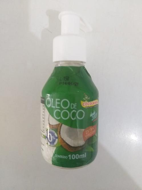 ÓLEO DE COCO EXTRA VIRGEM POTE 100 ml COM DOSADOR
