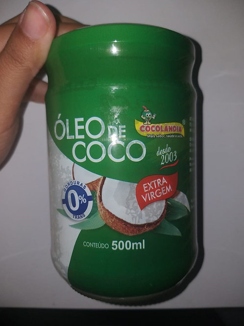 ÓLEO DE COCO EXTRA VIRGEM POTE 500 ml