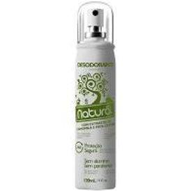 Desodorante Natural Suavetex extratos Camomila e Erva Cidreira