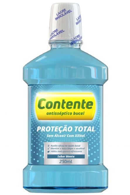 Anti Séptico Contente Proteção total (Azul)