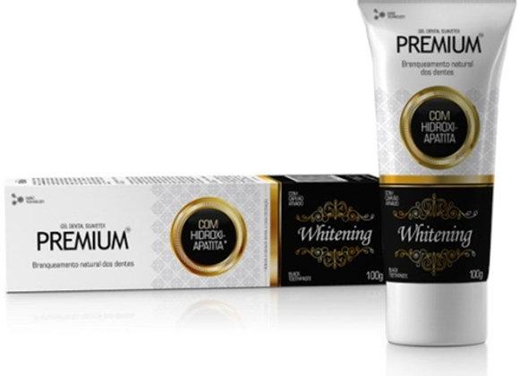 Gel Dental Premium Whitening  com  Hidroxi-Apatita e Carvao Ativado