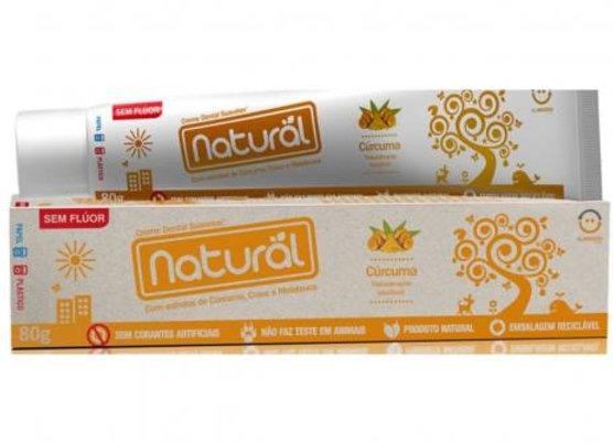 Creme Dental Suavetex Natural extr. Cravo Curcuma e Maelaleuca