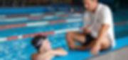 Istruttore di nuoto privato e massaggiatore, Daniele Da Rio