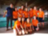 La squadra esordienti capitanata da Stefano Crivelli