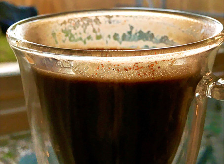 How to make my sweet and spicy Aztec Mocha