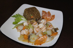 Thai Shrimp with Fried Rice
