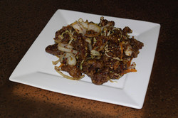 Spicy Lemongrass Beef