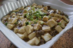 Minced Beef with Tofu