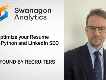 Optimize your Resume using Python and LinkedIn SEO