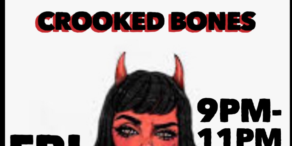 CROOKED BONES - Live on the Bowlski's Main Stage