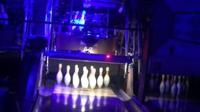 Glowing Brunswick A2 Bowling Machines