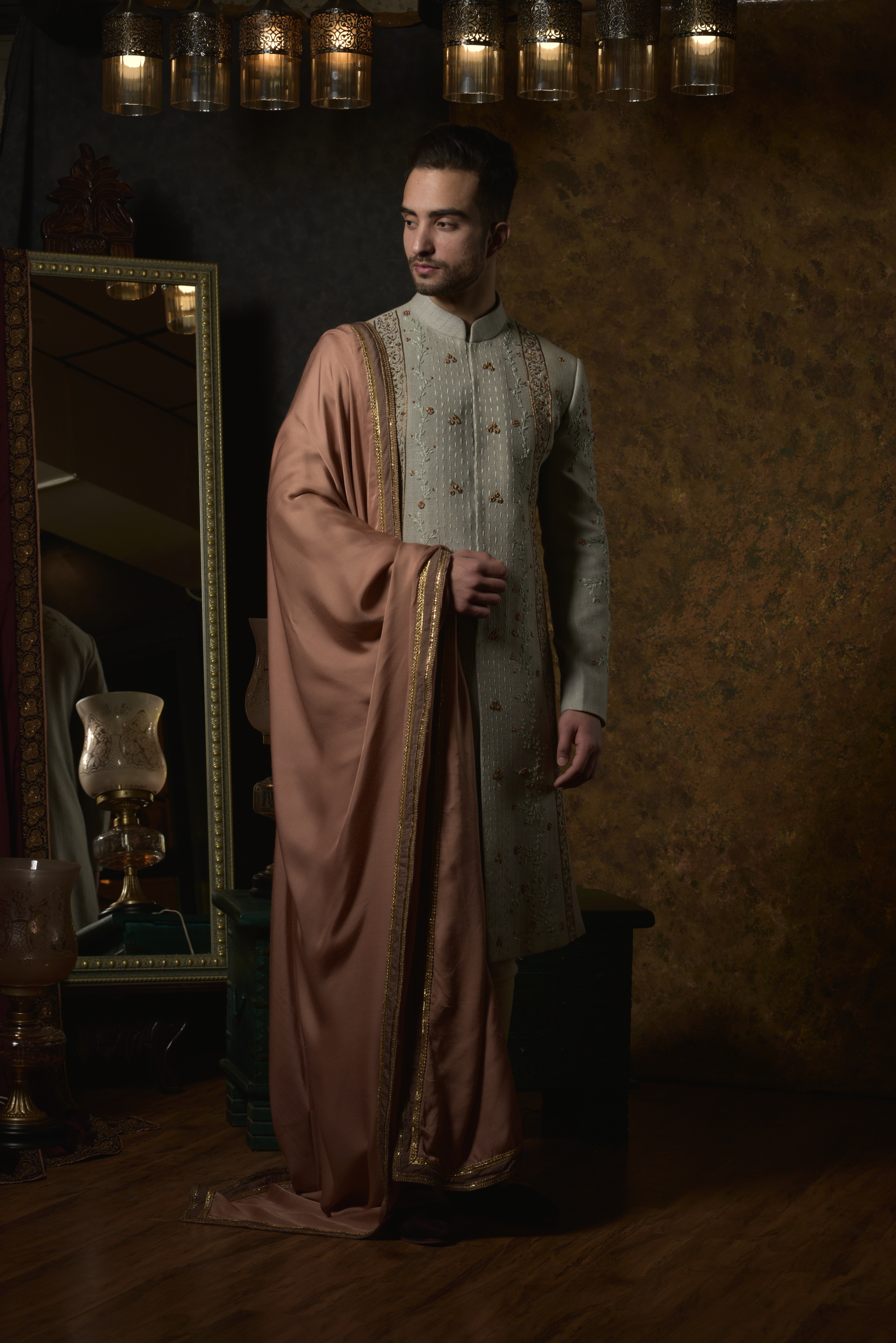Catalog Shoot for Jatin Malik Couture