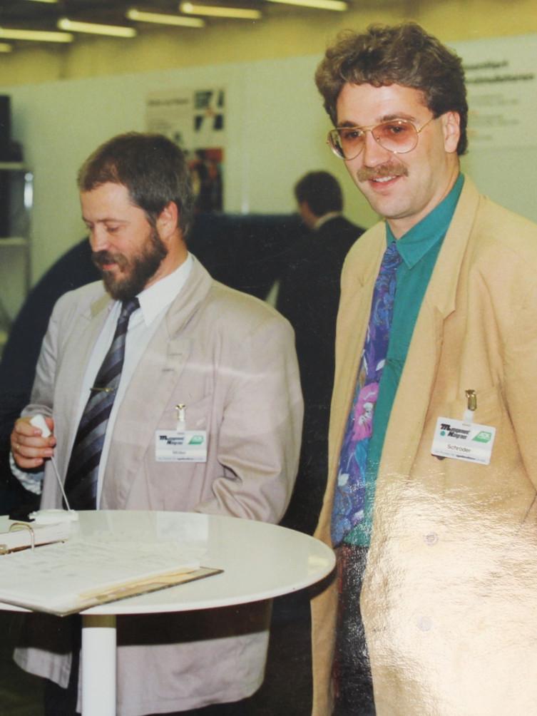 Jörg Schröder in den 80er Jahren