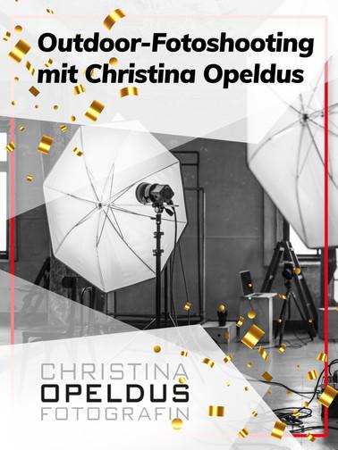 Outdoor-Fotoshooting mit Christina Opeldus