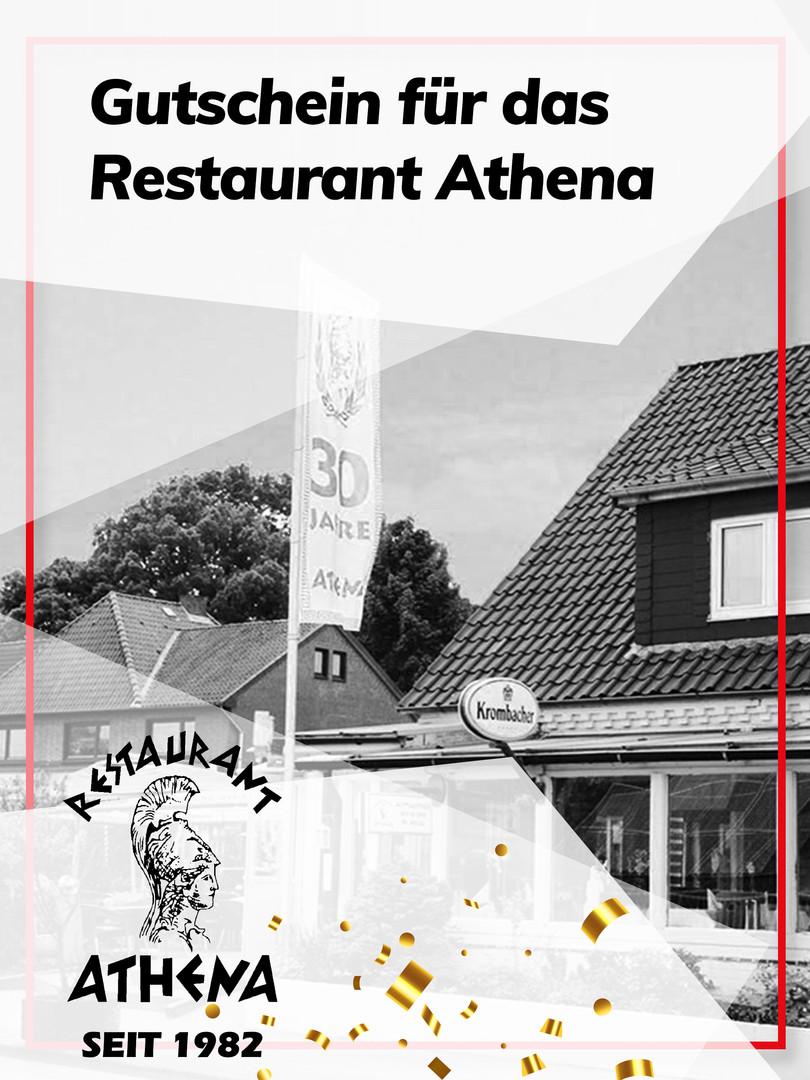 Gutschein für das Restaurant Athena