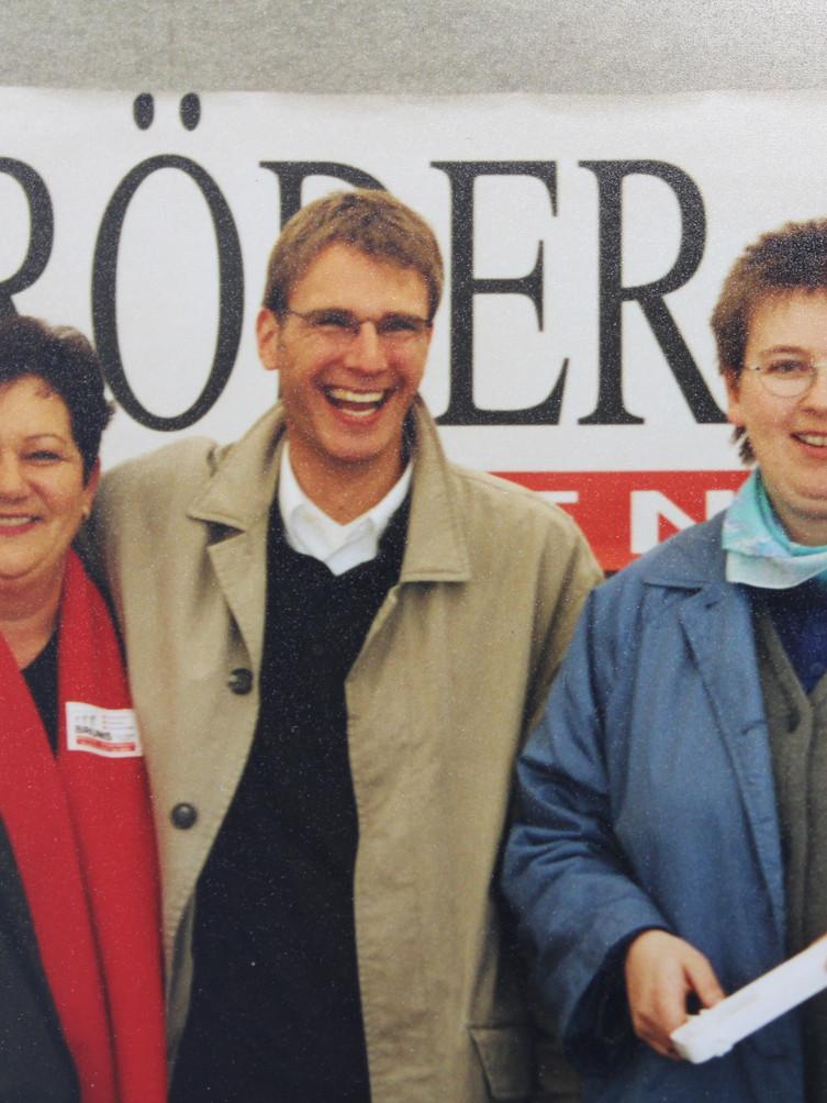 Jutta Bruns, Andreas Bardowicks und Gudrun Fütterer