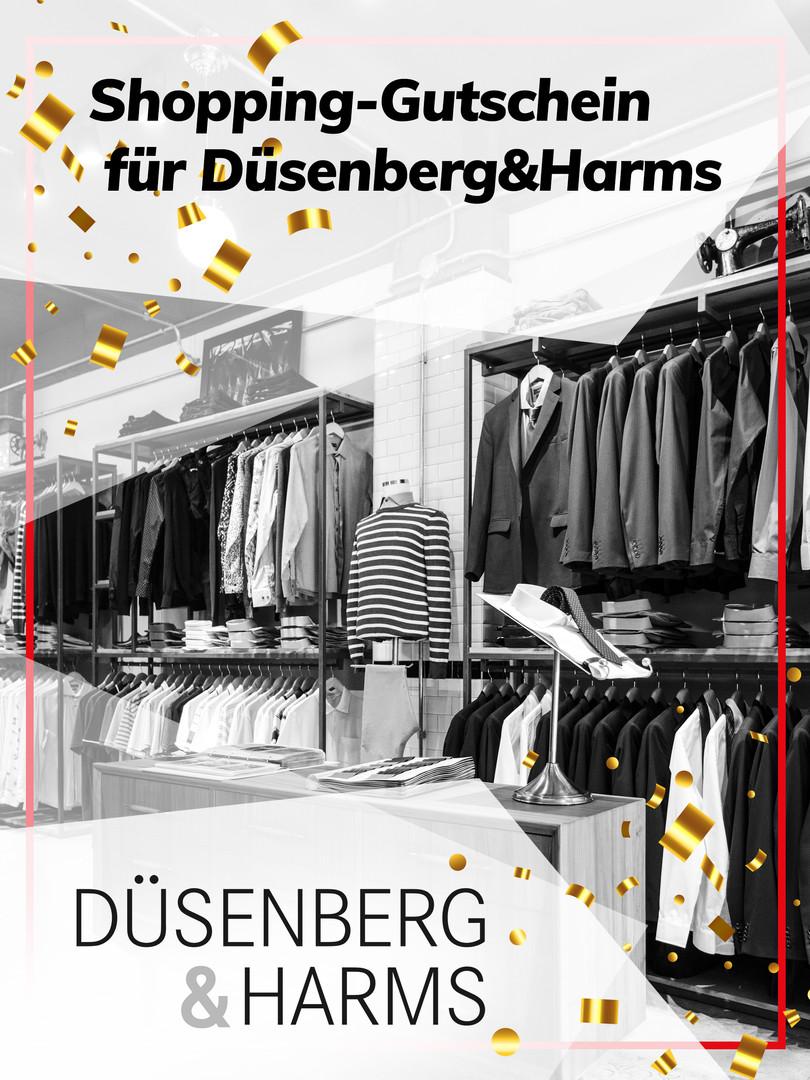 Shopping-Gutschein für Düsenberg&Harms