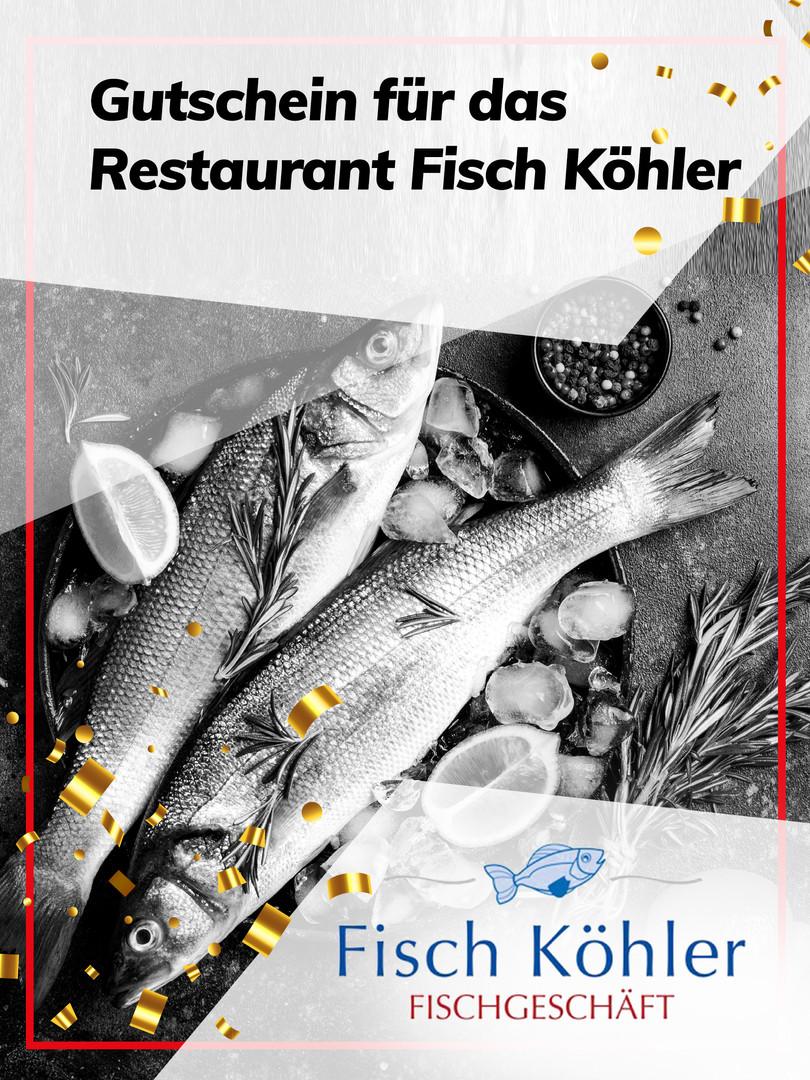 Gutschein für das Restaurant Fisch Köhler