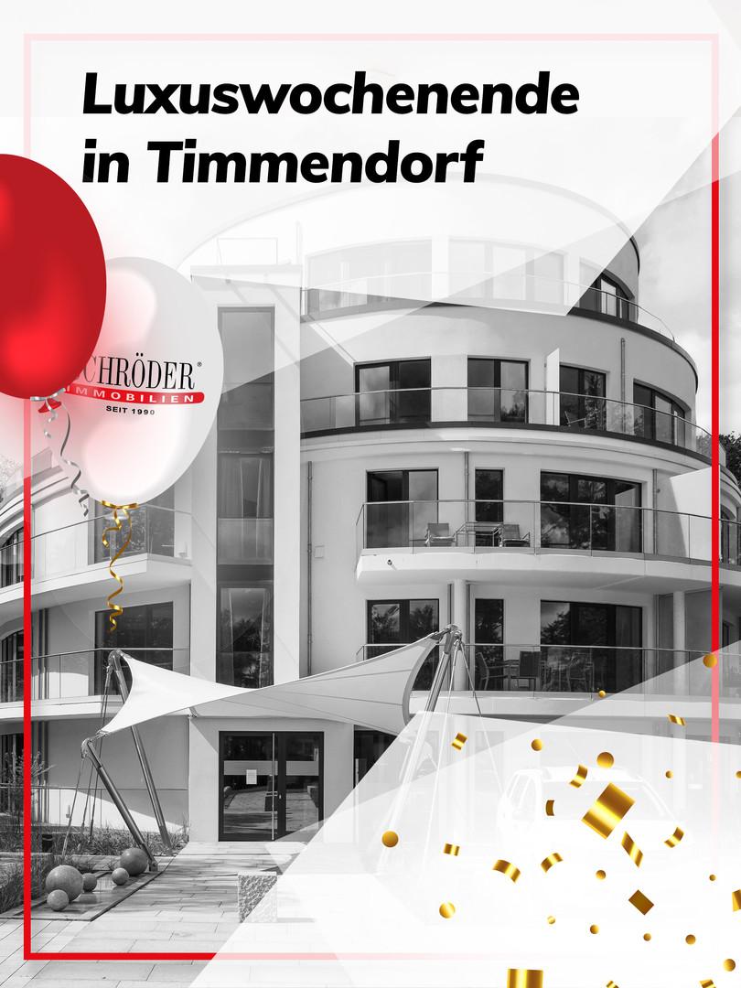 Luxuswochenende in Timmendorf