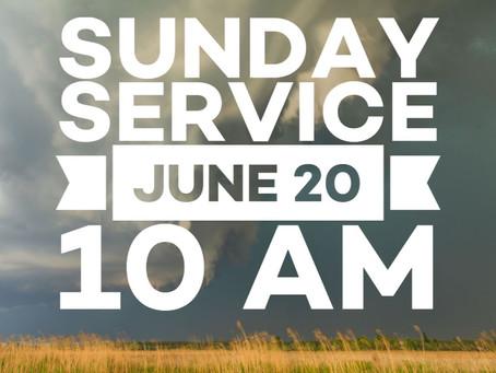 Virtual Sunday Service - June 20, 2021