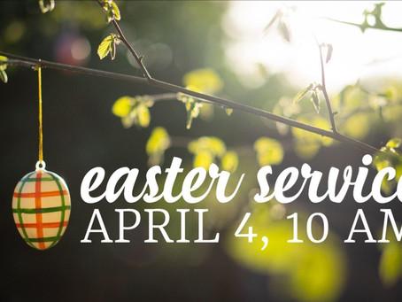 Virtual Easter Service - April 4, 2021