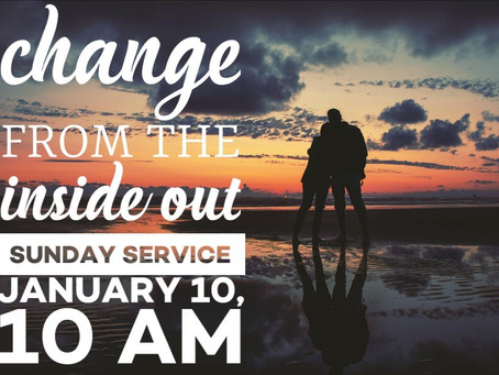 Virtual Sunday Service - January 10, 2021
