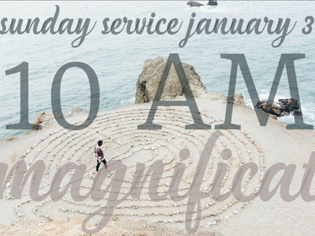 Virtual Sunday Service - January 3, 2021
