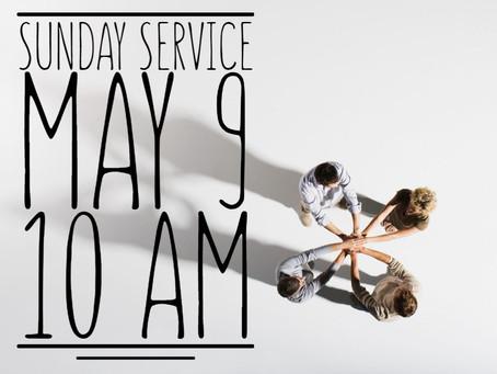 Virtual Sunday Service - May 9, 2021