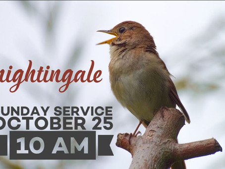 Virtual Sunday Service - October 25, 2020