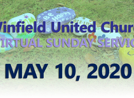 Virtual Sunday Service - May 10, 2020