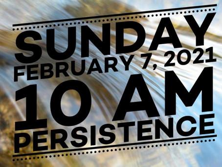 Virtual Sunday Service - February 7, 2021