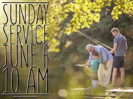 Virtual Sunday Service - June 6, 2021