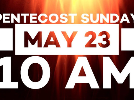 Virtual Sunday Service - May 23, 2021