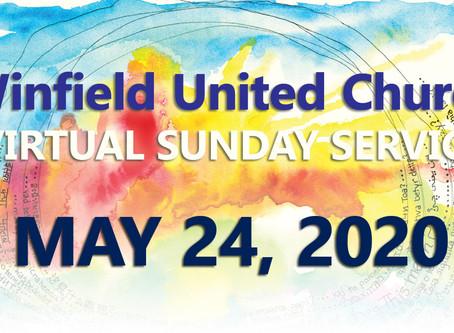 Virtual Sunday Service - May 24, 2020