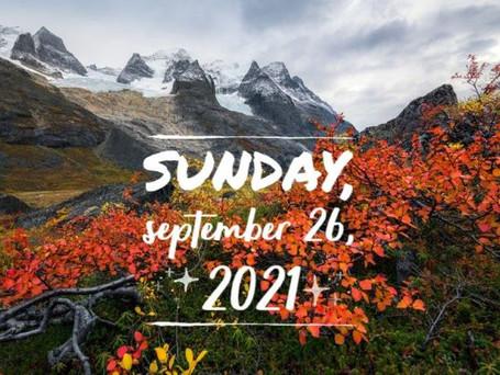 Mountain Sunday