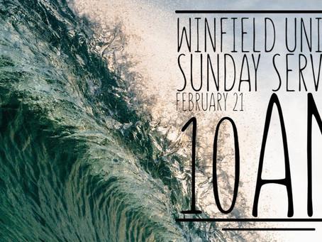 Virtual Sunday Service - February 21, 2021