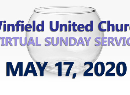 Virtual Sunday Service - May 17, 2020